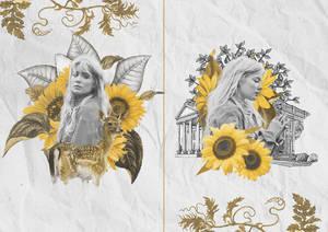 - [20/8/2018] - Graphic Sunflowers.