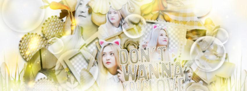 - [02/09/2018] - DON'T WANNA YOUR LOVE.