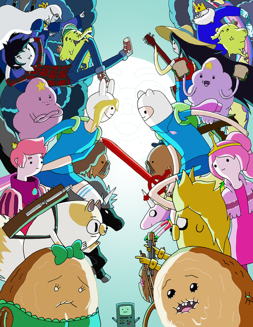 adventure time finn and fiona meet episode speakers
