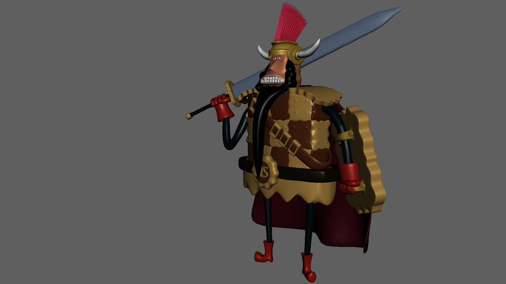 One Piece Cracker Knight By Chaqall On Deviantart