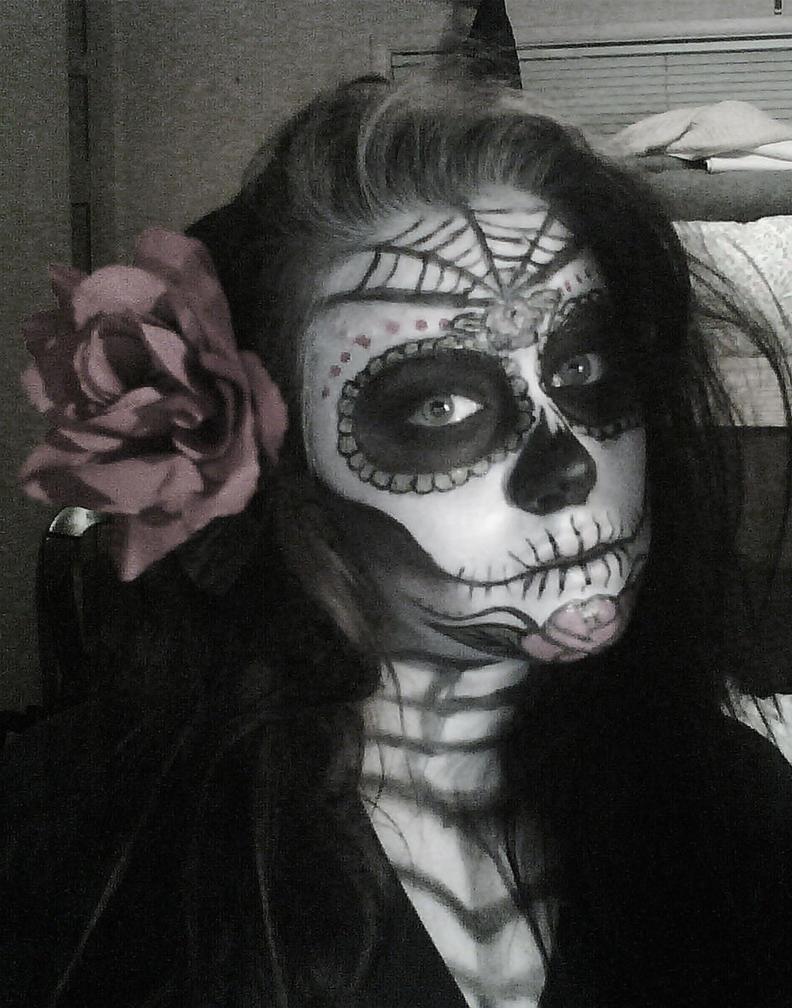 Dia de los muertos by badtothebonechick13