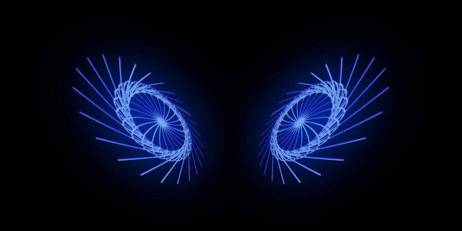 abstract neon eyes - photo #24