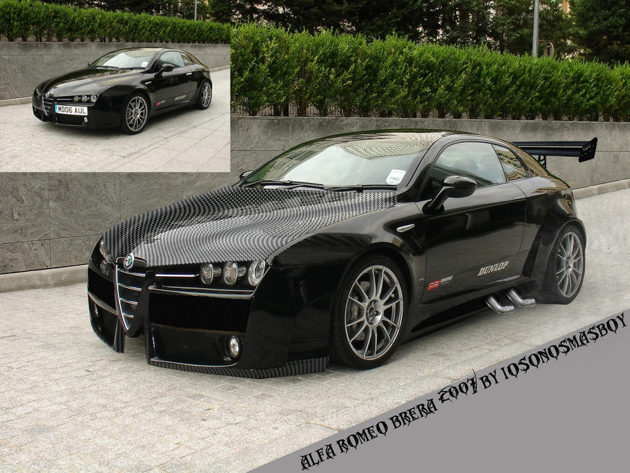 alfa romeo brera tuned by iosonosmashboy on DeviantArt