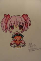 Madoka and strawberry by cztero-cian