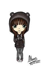 cute hoodie by cztero-cian