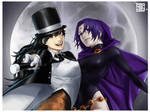 Zatanna and Raven