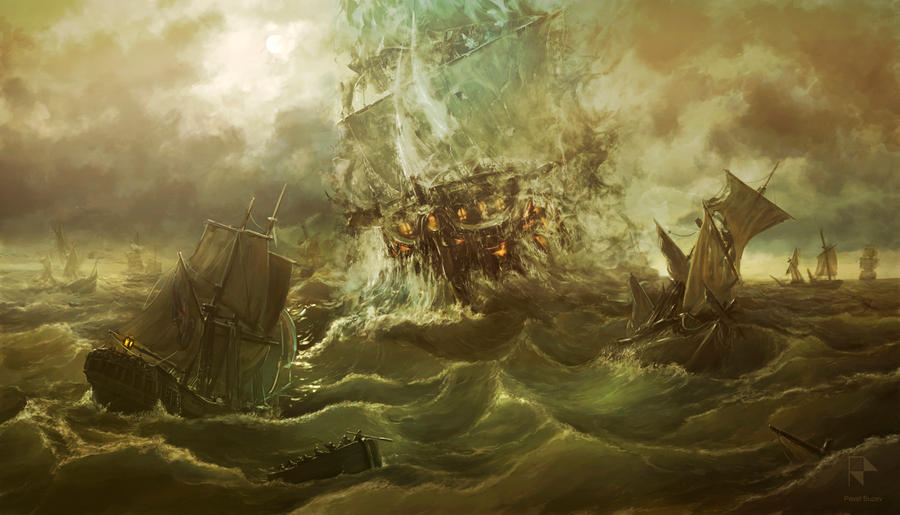 Ghost Ship by PaulBuzev