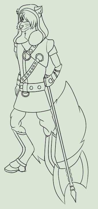 Dale - Executioner (WIP) by FrostyWolfter
