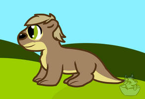 Otter MLP Style Attempt by FrostyWolfter