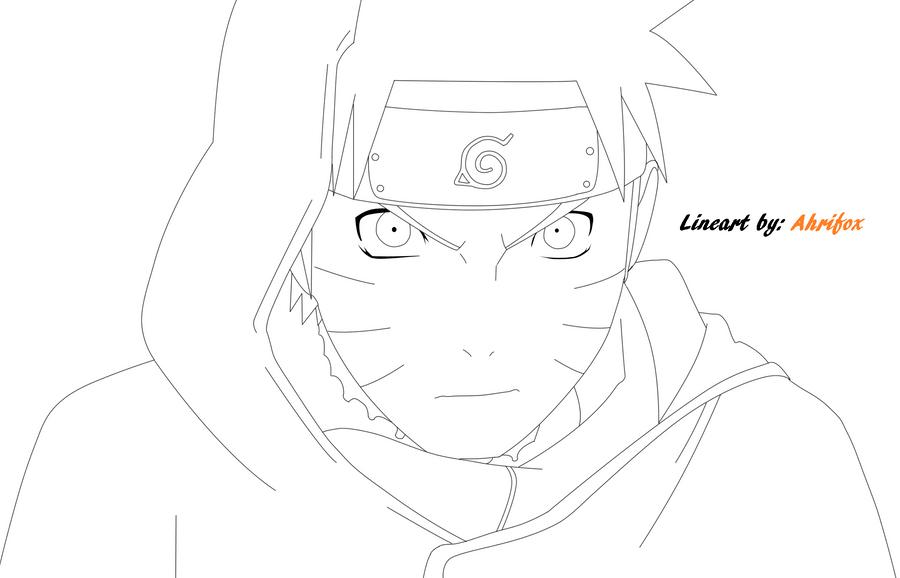 Naruto Shippuden Lineart : Naruto shippuden blood prison scene lineart by ahrifox