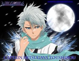 Bleach - Hitsugaya Toushirou - colored by Ahrifox