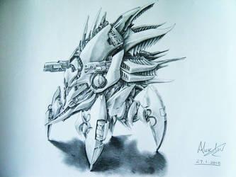 Robot Design 1 by alexliuzinan