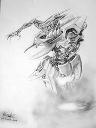 Robot Design 2 by alexliuzinan