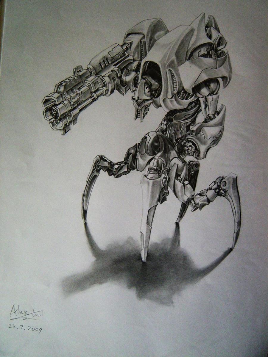 Robot Design 3 by alexliuzinan