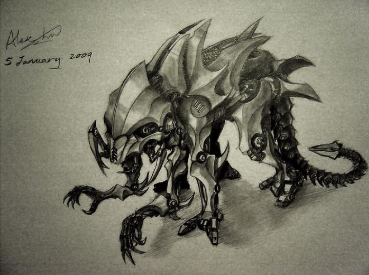 Robot Design 4 by alexliuzinan