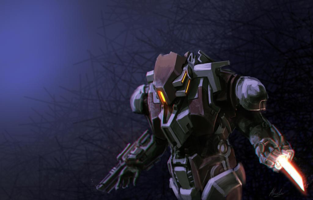 Suit MK-II by alexliuzinan