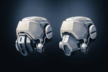 Helmet Concepts by alexliuzinan