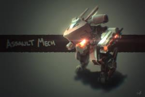 Assault Mech by alexliuzinan