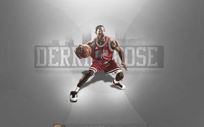 Derrick Rose Wallpaper by avidorturgi