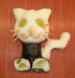 rice ball kitty