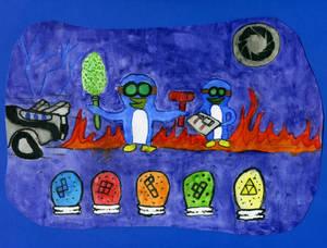 Mad Scientist Penguins