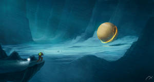 Alien Data Core by xistenceimaginations