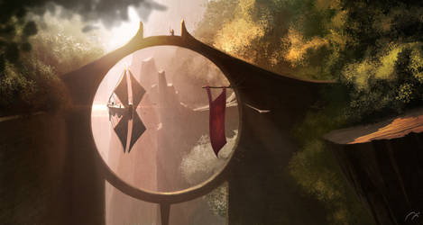 The Gate by xistenceimaginations