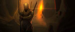 Ma'raal Warrior by xistenceimaginations
