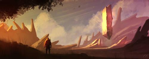 Obelisk by xistenceimaginations