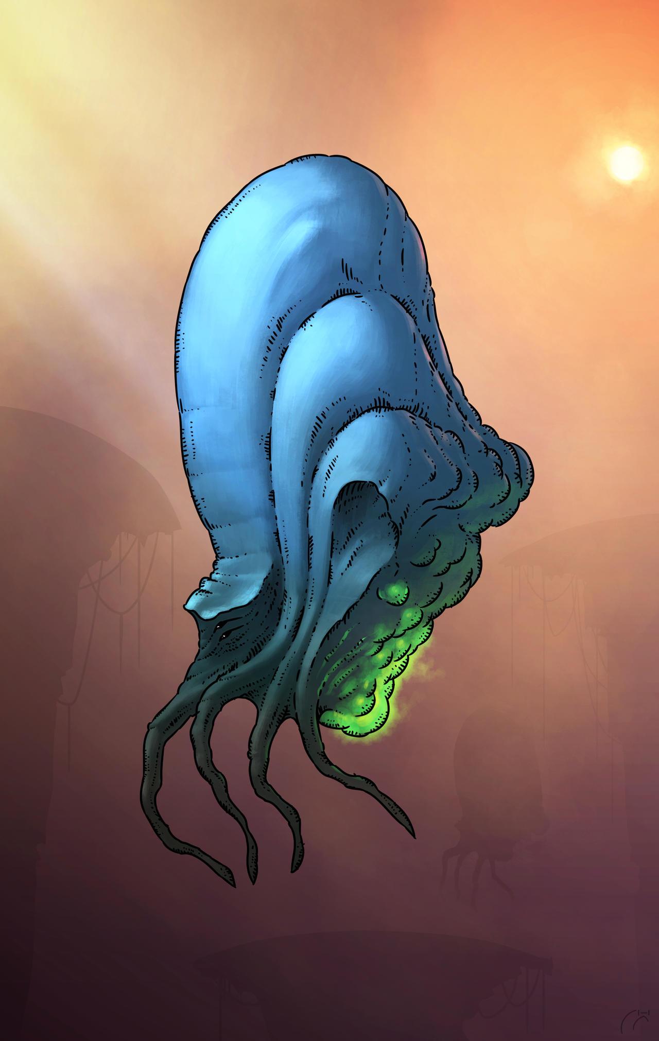 Random Creature Concept Quickpaint