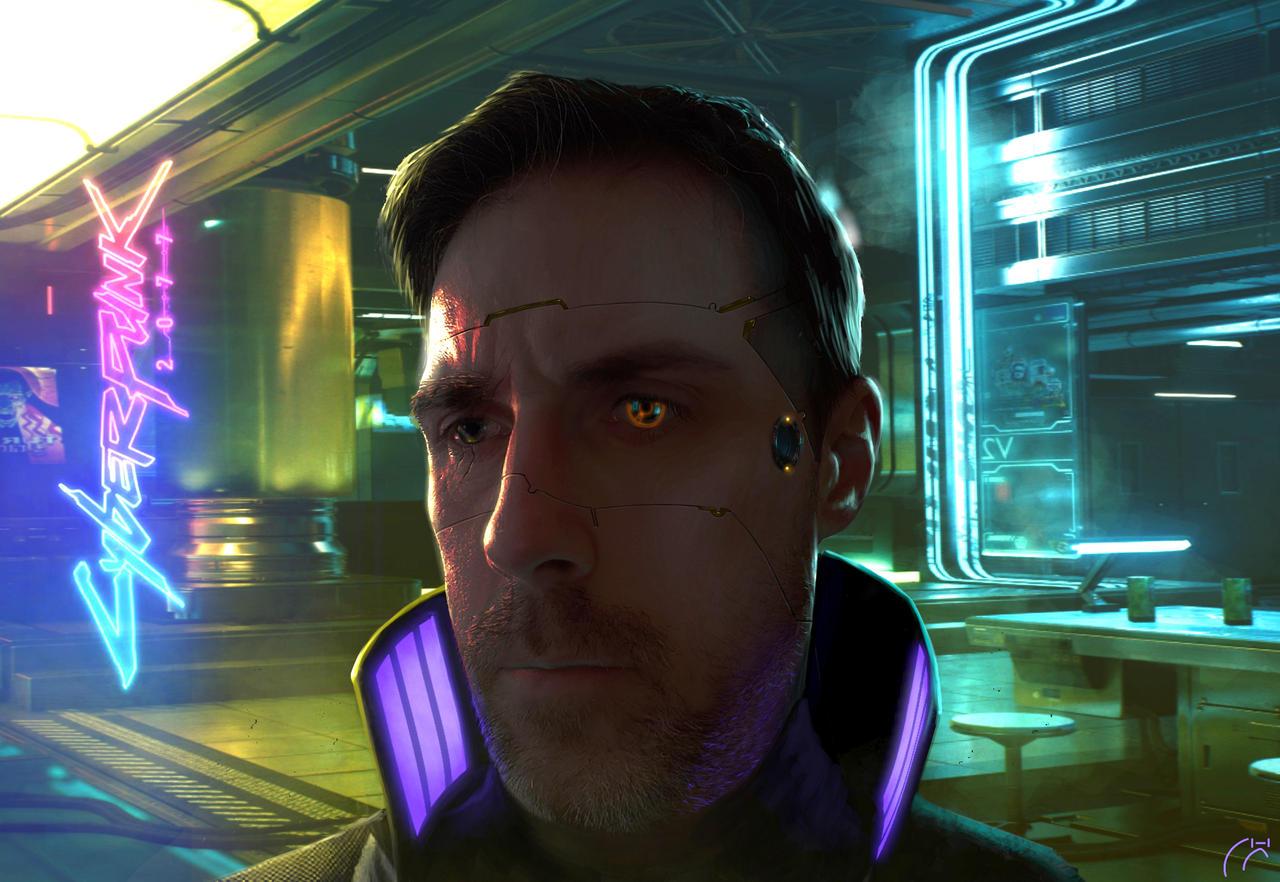 Cyberpunk 2077 Selfportrait