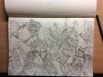Ambush of the Bretonnian knights by StyrBj0rn