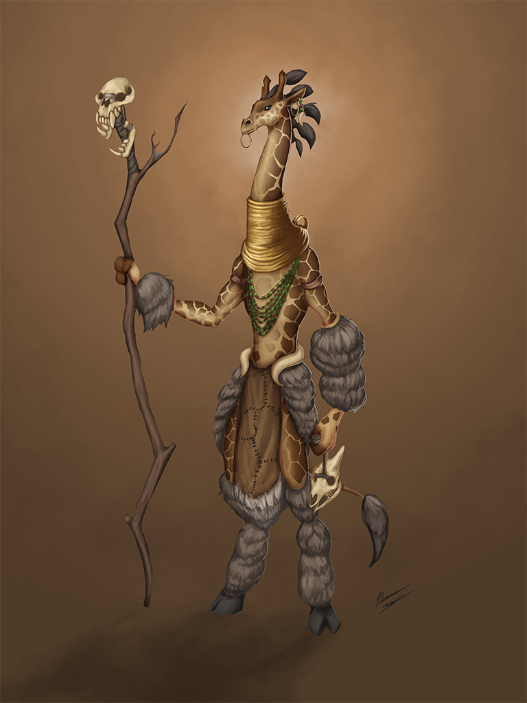 exercise giraffe witch doctor by b cesar on deviantart