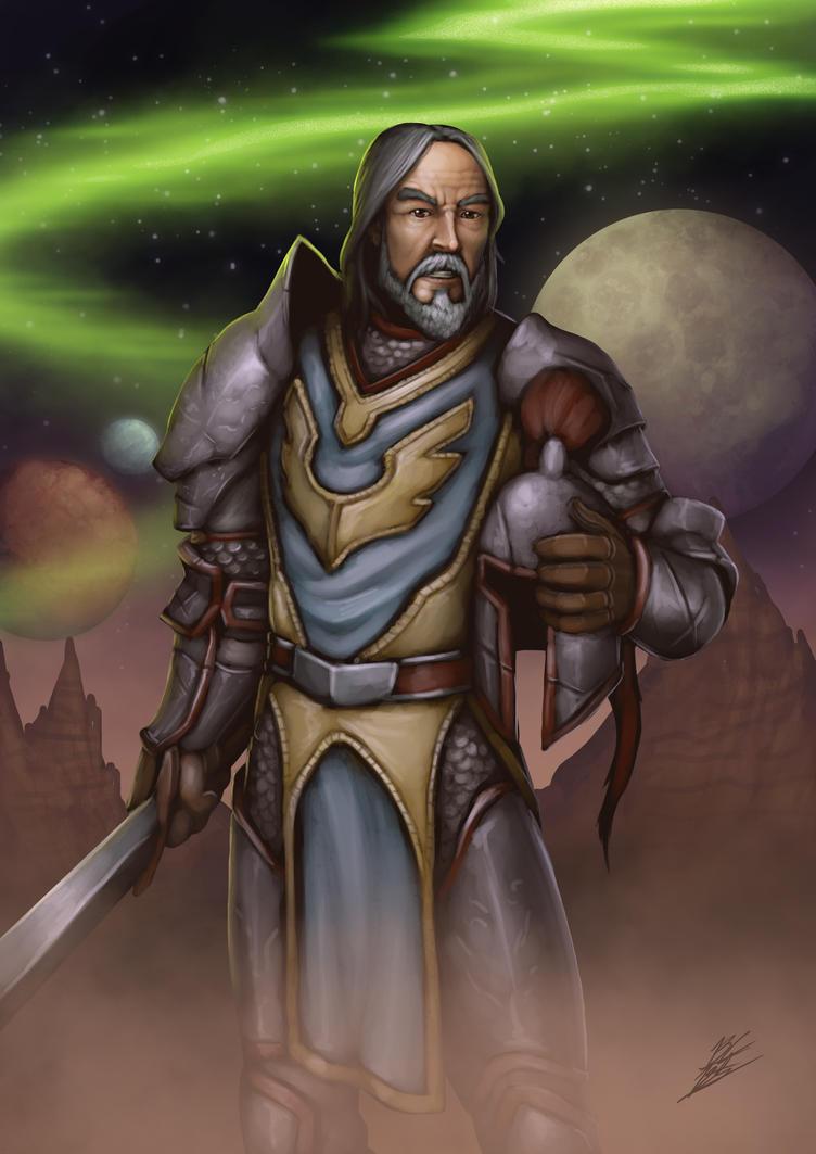 Warcraft tribute - Danath Trollbane by b-cesar