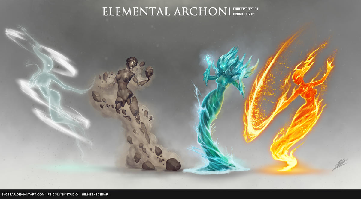 Rise and Conquer - Elemental Archon by b-cesar on DeviantArt