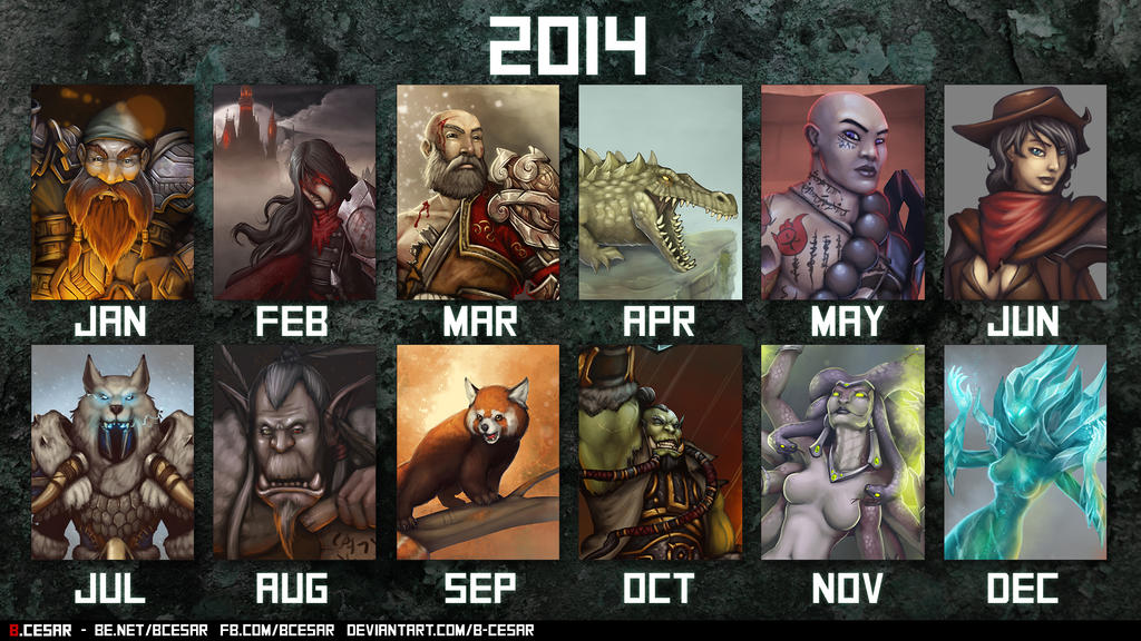 2014 Retrospective by b-cesar