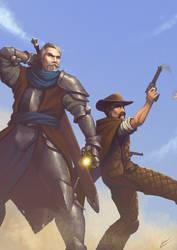 Commission: Marek and Steele