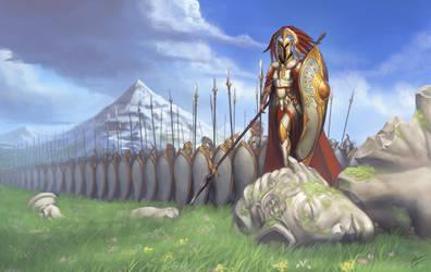Arilaf the elven crown princess