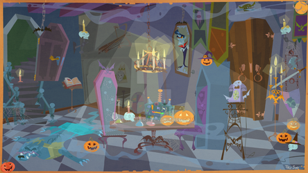 Count Dracula's Room