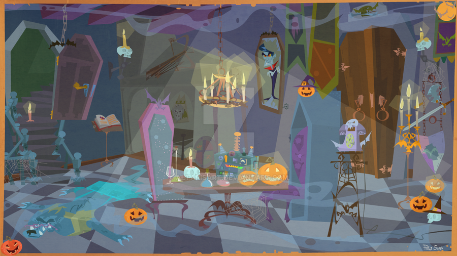 Count Dracula's Room by altarisart