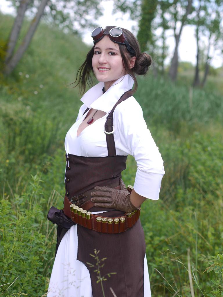 Steampunk Leia ! by Pandore11