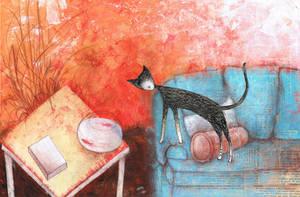 Cat2 by kaiserknife