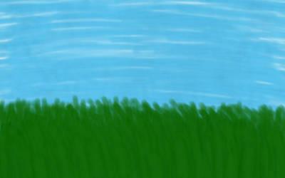 Grassy Field by SkeletonAsh620