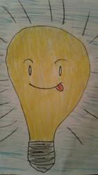 Lightbulb  by SkeletonAsh620