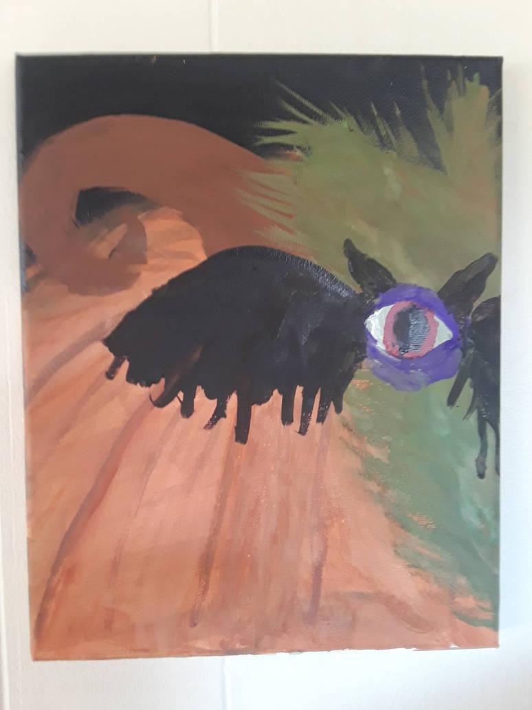Flying Purple People Eater. by SkeletonAsh620