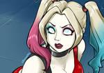SM redraw Harley Quinn