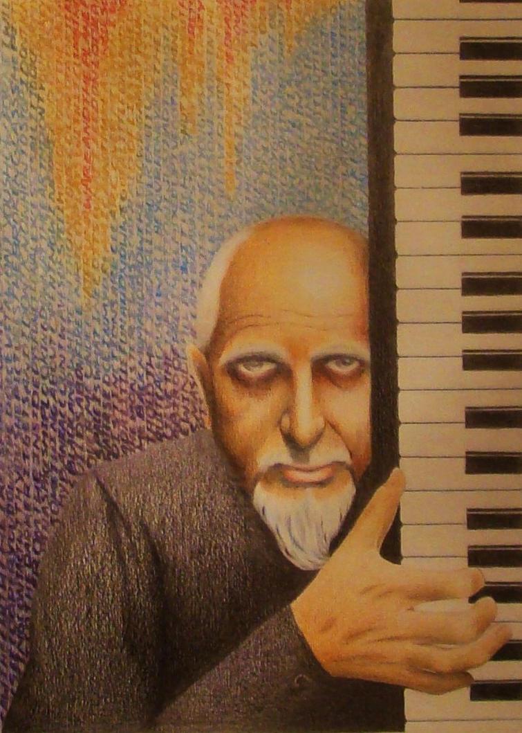 Peter Gabriel by Mad-Giraffe