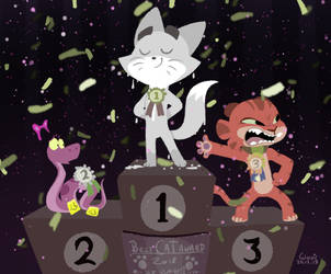 Cat Contest by tyokio
