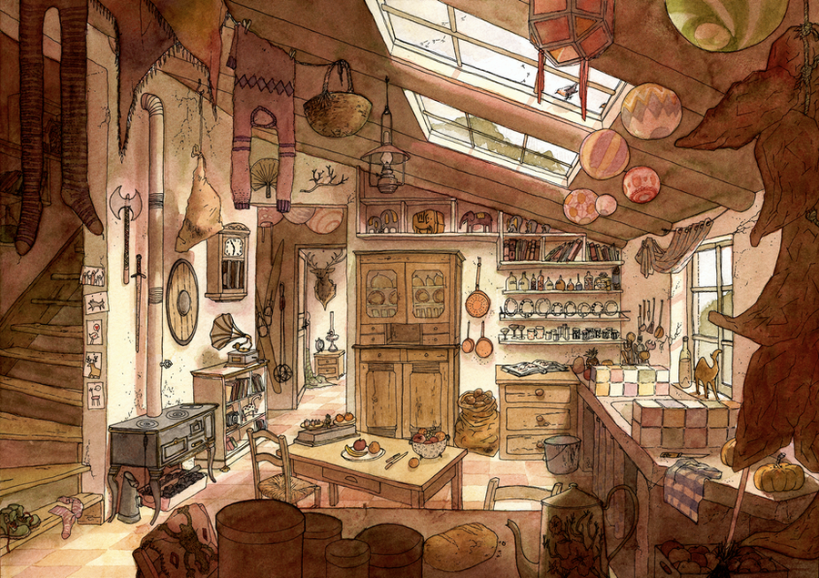 La cuisine du voyageur by Marfigram