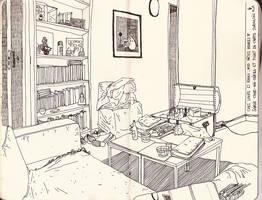 Sketchbook summer 10' by Marfigram